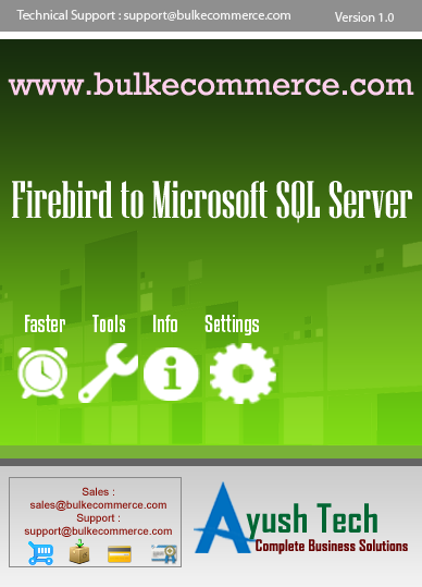 Firebird to Microsoft SQL Server