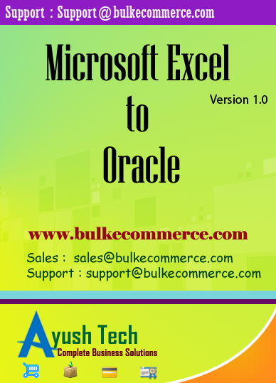Microsoft Excel to Oracle