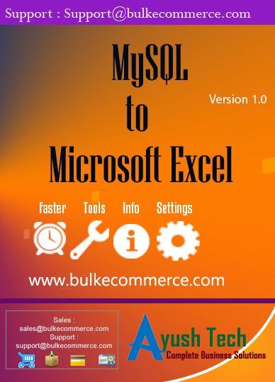 MySQL to Microsoft Excel
