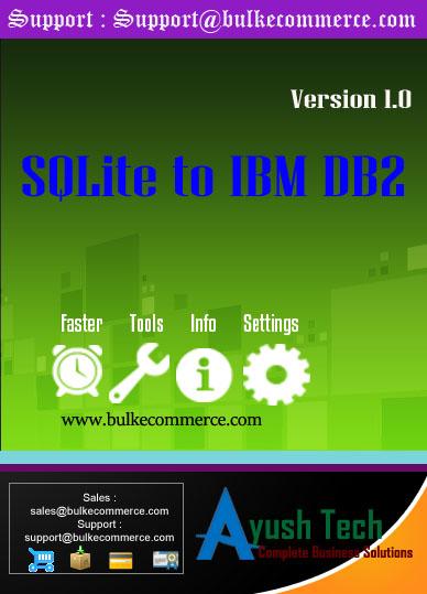 SQLite to IBM DB2