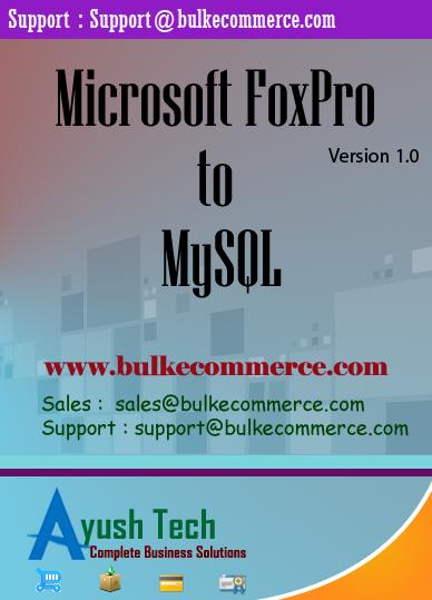 Microsoft FoxPro to MySQL