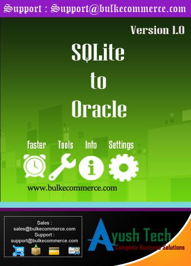 SQLite to Oracle