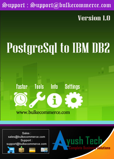 PostgreSql to IBM DB2