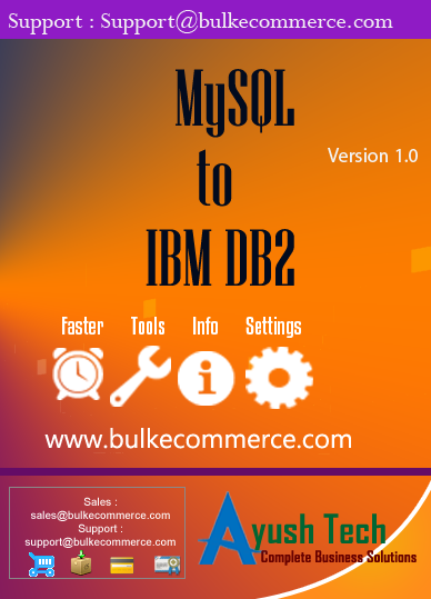 MySQL to IBM DB2