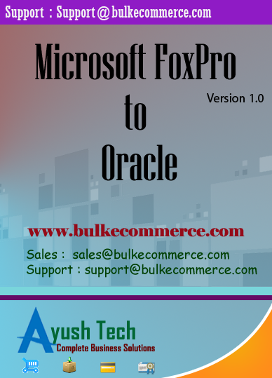 Microsoft FoxPro to Oracle