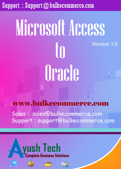 Microsoft Access to Oracle