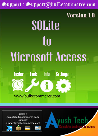 SQLite to Microsoft Access