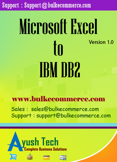 Microsoft Excel to IBM DB2