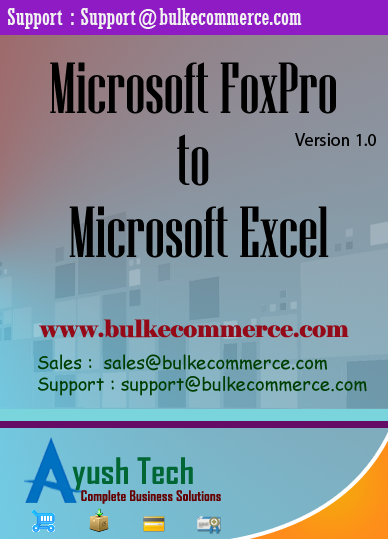 Microsoft FoxPro to Microsoft Excel