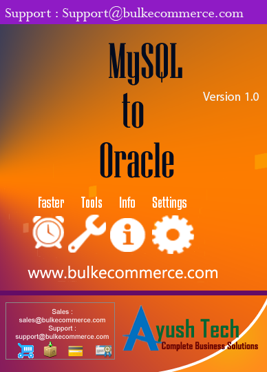 MySQL to Oracle