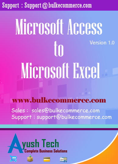 Microsoft Access to Microsoft Excel