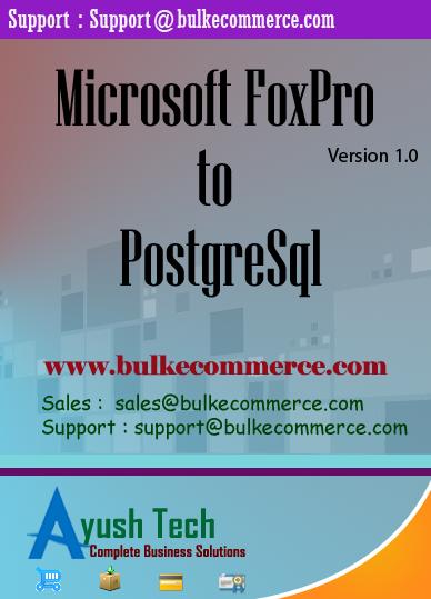 Microsoft FoxPro to PostgreSql