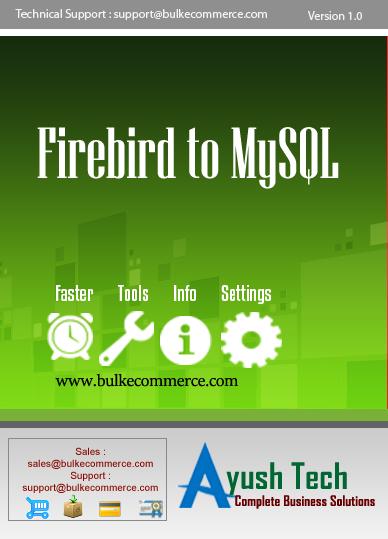 Firebird to MySQL