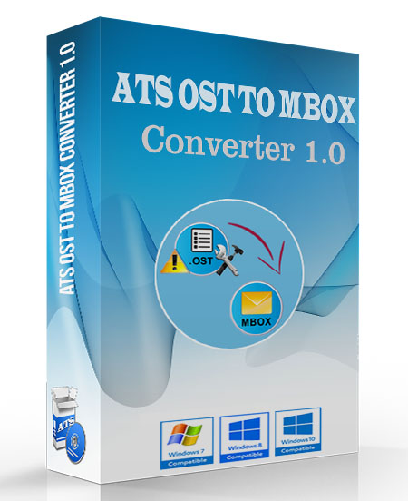 ATS OST to MBOX Converter Software