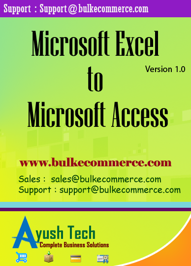 Microsoft Excel to Microsoft Access