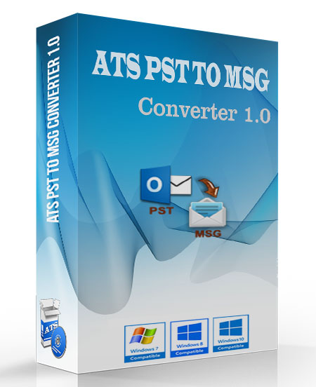 ATS PST to MSG Converter Software