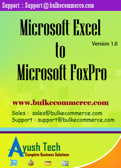 Microsoft Excel to Microsoft FoxPro