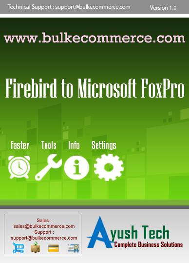 Firebird to Microsoft FoxPro