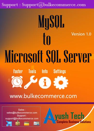 MySQL to Microsoft SQL Server