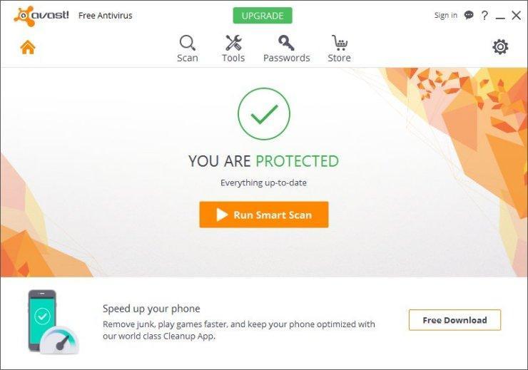 Avast Antivirus 2016- Pro Antivirus