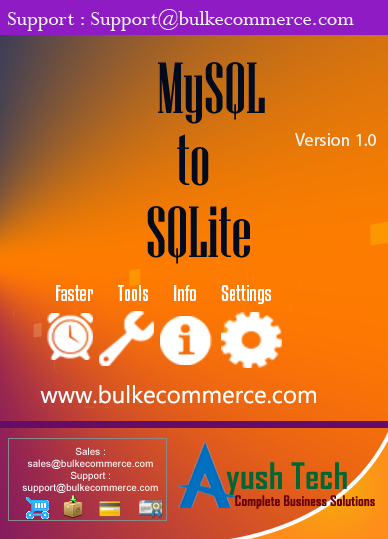 MySQL to SQLite