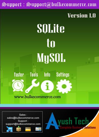 SQLite to MySQL