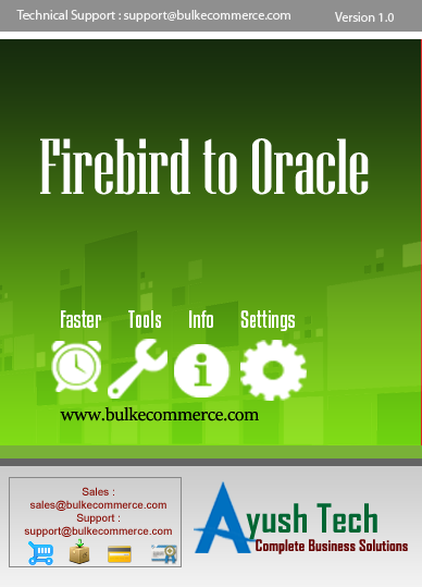 Firebird to Oracle