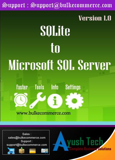 SQLite to Microsoft SQL Server