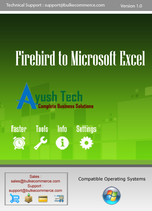 Firebird to Microsoft Excel