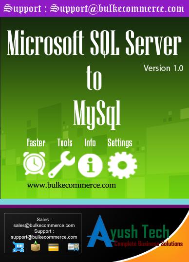 Microsoft SQL Server to MySql