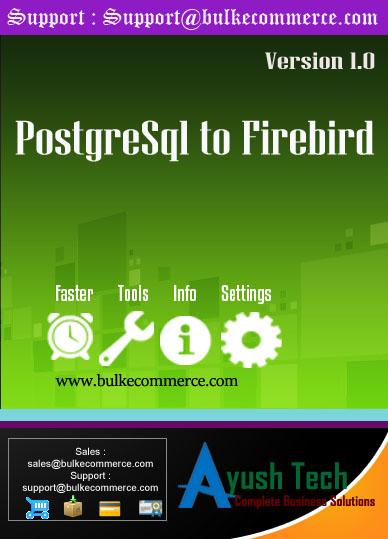 PostgreSql to Firebird