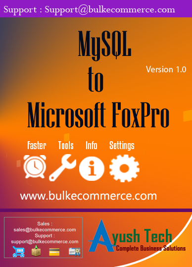 MySQL to Microsoft FoxPro