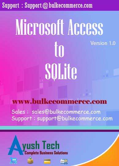 Microsoft Access to SQLite
