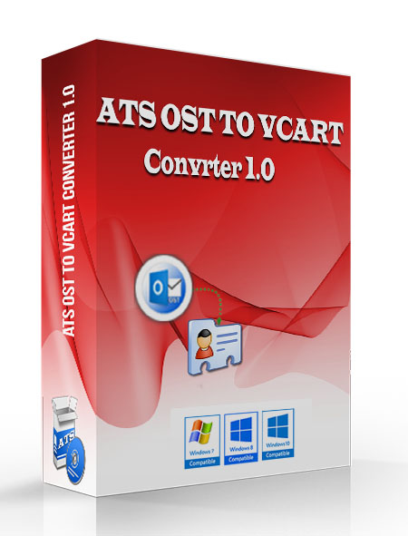 ATS OST to vCard Converter