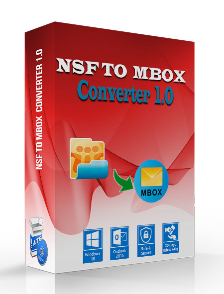 ATS NSF to MBOX Converter