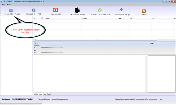 Convert NSF to PST Software