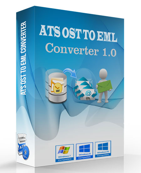 ATS OST to EML Converter Software